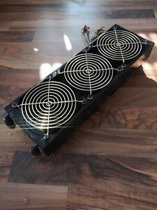 Wasserkühlung  -  Triple Radiator  -  mit Lüfter und Anschlüsse