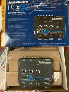 AudioControl LC6i 6 Channel Stereo Line Output Converter Internal Summing Opened