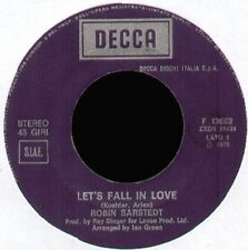 ROBIN SARSTEDT - Let's Fall In Love - DECCA