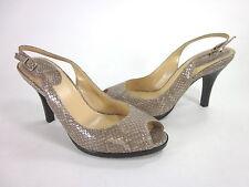 COLE HAAN WOMEN'S CARMA OT.AIR.SLING FASHION SLINGBACK NATURAL Size 8.5 B