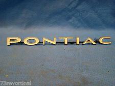 GM 9788403 NOS 1967 67 Pontiac Grill Name Plate Emblem Catalina Executive