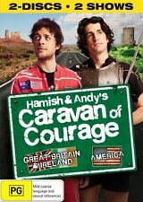 Hamish And Andy's Caravan Of Courage (DVD, 2010, 2-Disc Set) -- Free Postage --