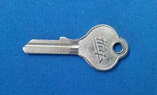 """Huf KD """"V"""" Groove Vintage Original Key Blank for Mercedes Up To 1954, Porsche"""
