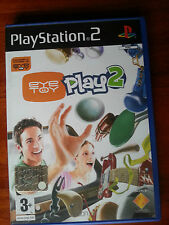 EYE TOY PLAY2 pal Sony Playstation 2 ps2 game gioco console