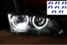 16 AMPOULE W5W POUR ECLAIRER EN BLANC PHARE ANGEL EYES DEPO BMW SERIE 3 E46 E36