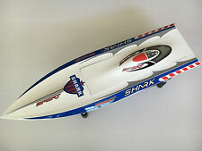 DT H750 Shark Painted Electric RC Boat Hull Only for Skilled Player KIT White