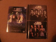 JLS DVD CD bundle Only Tonight Live From London DVD JLS & Outta This World CDs.