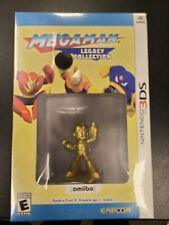 Megaman Legacy Collection Gold Amiibo Nintendo 3DS Brand New Factory Sealed NIB