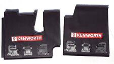 Kenworth OEM Black Rubber Floor Mats w/Red Logo Fits 2005-17 T600 660 800 W900