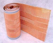 [14,98€/m] Kupfer-Firstrolle/Gratrolle/Mikroperforation/Dachentmoosung/400mmx5m