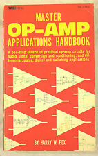 Master OP Amp Applications Handbook by Harry W. Fox (1977, Paperback)