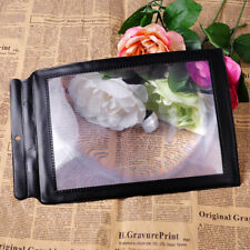 A4 Full Page Magnifier 3X Big Sheet Large Magnifying  Reading Aid Lens
