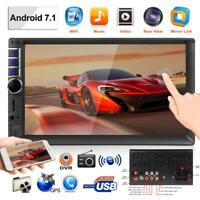 """Android 7.1 3G WIFI 7"""" 2DIN Car Quad Core Stereo MP5 Player GPS Navi BT FM"""