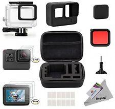 Deyard GoPro Hero 5 25 en 1 Kit de Accesorios con pequeño paquete de Estuche a prueba de choques