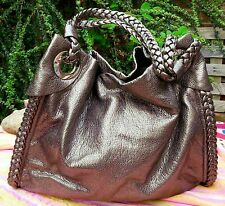 Oasis very soft brown faux leather handbag hardly used
