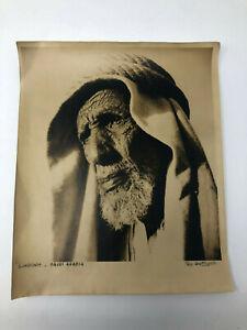 SUNDOWN - SAUDI ARABIA    Signed Original Photograph ILO BATTIGELLI Aramco  1946