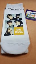 BIGBANG KPOP PHOTO Unisex Cotton Low Ankle Socks Kpop Gift Sealed New