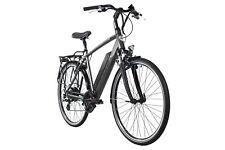 """E-Trekking Bike Heren 28"""" Adore Palermo Fiets 250W zwart Li-Ion 14Ah 53 cm 117E"""
