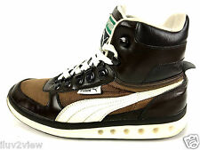 Puma Explorer  High Top Sneakers Brown /Beige 348597-04 Size 7.5 USA
