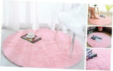 Softlife Fluffy Area Rugs for Bedroom 4' x 4' Round Shaggy Rug for Girls Kids Li