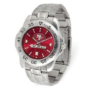 NFL San Francisco 49ers Mens Sport Steel Watch Style: XWM3543 $68.90