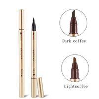 Waterproof Eye Brow Eyeliner Liquid Eyebrow Pen Pencil Makeup Cosmetic Tool NEW
