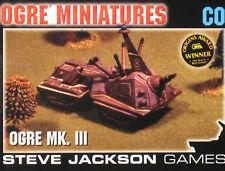 OGRE Combine Set 2 Mark III, Miniatures Jackson Games, Sealed, Great MegaExtras!