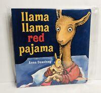 Llama Llama Red Pajama Large Lap Board Book New