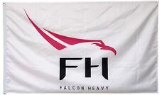 Falcon Heavy white Flag 3x5ft banner