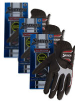 Srixon All Weather Pack Of 6 Golf Gloves - Black
