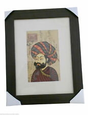 19.5 X 24.5 CM USED INDIAN POSTCARD PAINTING COLORFUL HANDMADE NEW FOR SALE