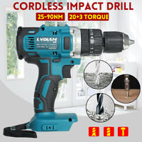 18V 3in1 13mm Cordless Compact Impact Drill Hammer Driver LED for Makita Battery