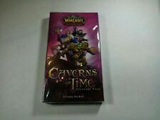 WOW World of Warcraft TCG Caverns of Time Treasure Pack NIB (Limited, OOP, New)