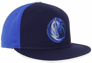 DALLAS MAVERICKS NBA 2-TONE FLEX-FIT FLAT BILL SIZE L/XL ADIDAS CAP HAT NEW! FS!