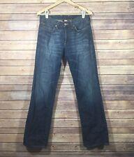 LUCKY BRAND - Men's Jeans Bootcut Vintage Straight 100% Cotton Jam Blue Denim 30