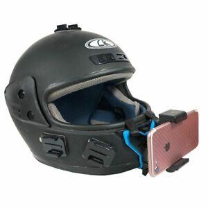 Phone Holder Mount Bracket Motorcycle Helmet For Huawei iPhone Samsung Xiaomi