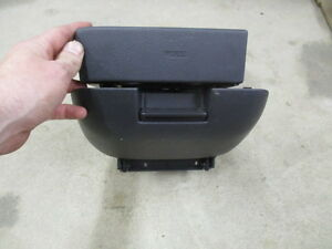 97-2001 HONDA CRV CR-V CUP HOLDER WITH CUBBY HOLE COMPARTMENT OEM USED CHARCOAL