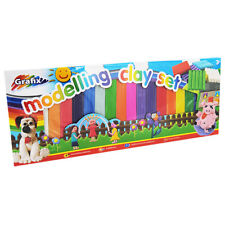 80 COLOURS OF NON TOXIC PLASTICINE IN THIS GRAFIX CLAY MODELLING CRAFT SET 3Yr+