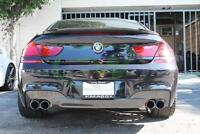 M-Sport exhaust conversion BMW F06 F12 F13 rear bumper diffuser tips tail pipes