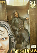 "Lord of the Rings Aragorn 20"" Epic Figure - Neca - sealed - MIB"