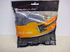 Alpha - Line DVI - D Cable  6ft Gold Plated Ends Free Shipping