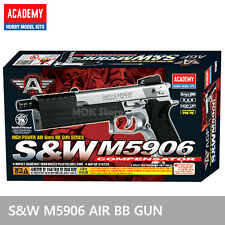 ACADEMY #17227 S&W M5906  Airsoft Pistol BB Toy Gun Replica Full Size Non Metal