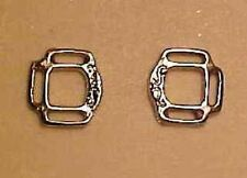 """RDLC 1:9 Model Scale 3-Slot Reversible Halter Corners for 3/32"""" or 1/8"""" - SILVER"""
