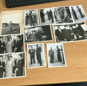 medal ribbons in photos (11) senior Army RAF officers  Aircrew original from WW2