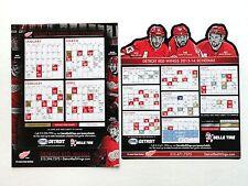 2 Detroit Red Wings SEASON SCHEDULE MAGNETS 2013 Short Season & 2013/14 SGA JLA