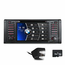 "CAM +7"" Touch Screen CANbus Car DVD GPS Navi Radio 3G WIFI for BMW E39 M5 E38"
