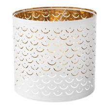 Ikea NYMÖ Pendant Or Floor Lamp shade White/brass-colour NYMO 24 cm pup10