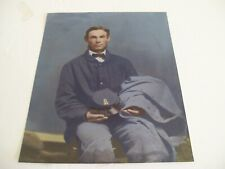 """Photo of Soldier-Colorized Reprint of Antique Photo-8"""" x 10"""""""