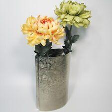Stainless Steel Silver Flower Vase Modern Home Decor
