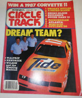Circle Track Magazine Waltrip & Hendrick February 1987 080714R
